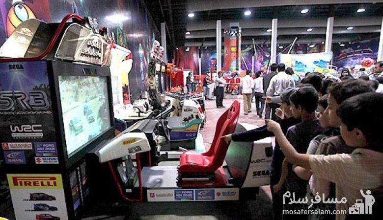 بازی های کامپیوتری شهربازی سمگا مشهد