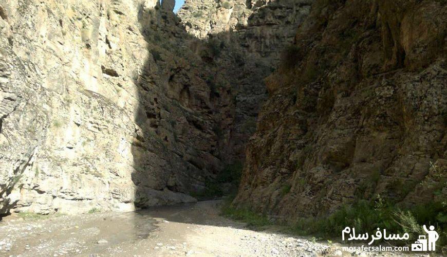 منظره ای دیگر از دره شمخال