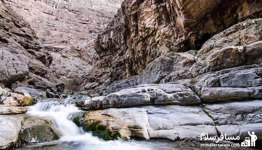 منظره ای بکر از دره شمخال