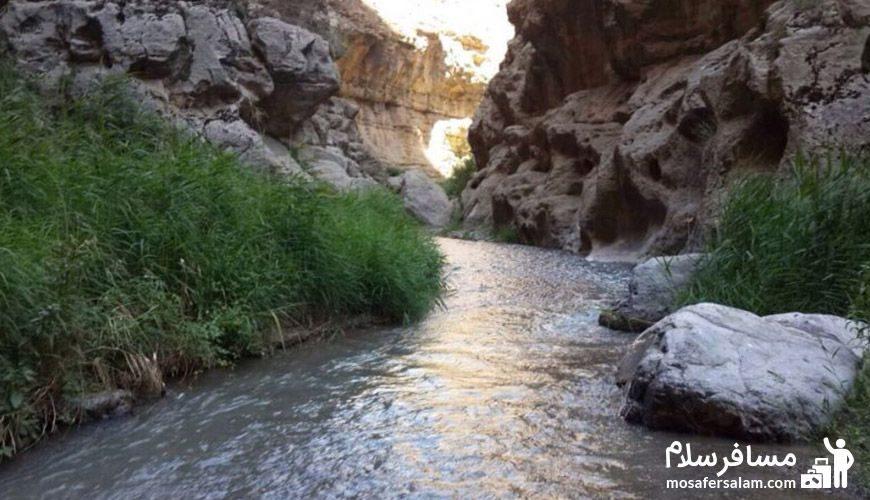 رودخانه دره شمخال