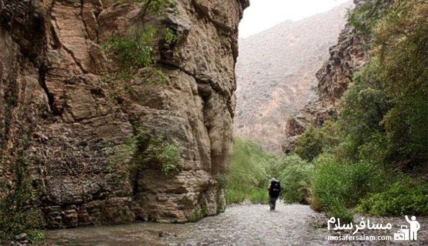 گردش در دره شمخال