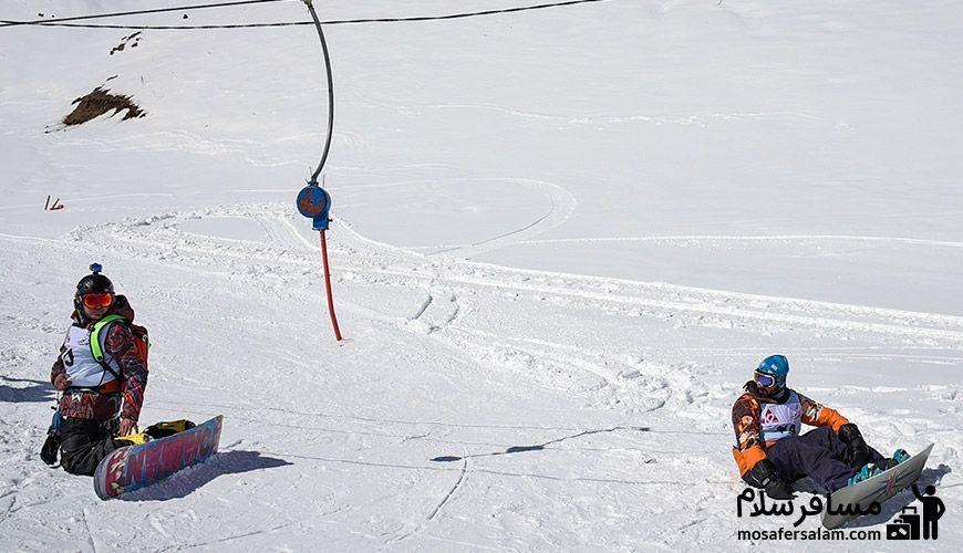 اسکی در پیست
