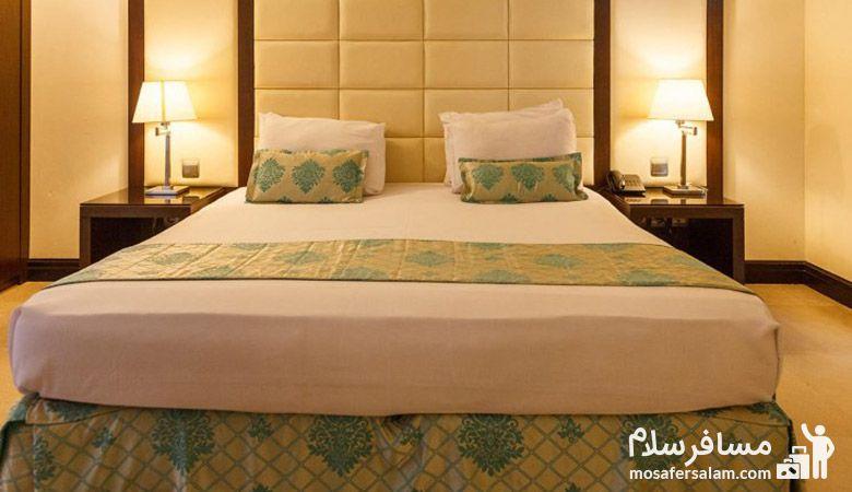 هتل هران مشهد روی نقشه، هتل تهران مشهد، گروه گردشگری مسافرسلام