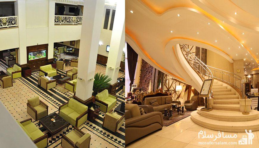 مقایسه هتل های 3 ستاره مشهد