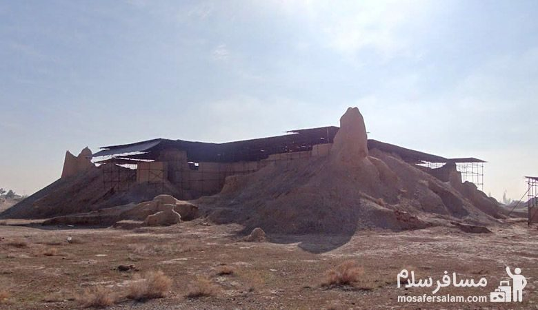 نمایی دیگر از مسجد تابران توس