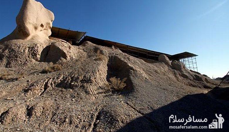 نمای بیرونی مسجد تابران توس
