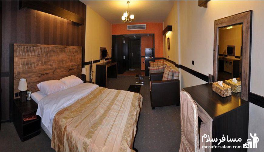 عکس زیبا از اتاق هتل آپادانا