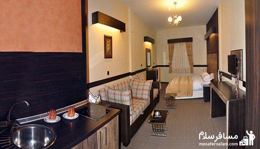 عکس اتاق های هتل آپادانا