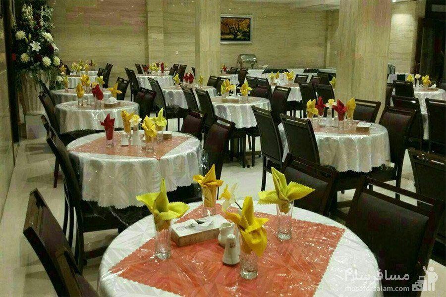 رستوران هتل آیران