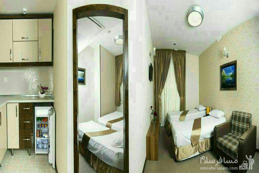 اتاق هتل آیران
