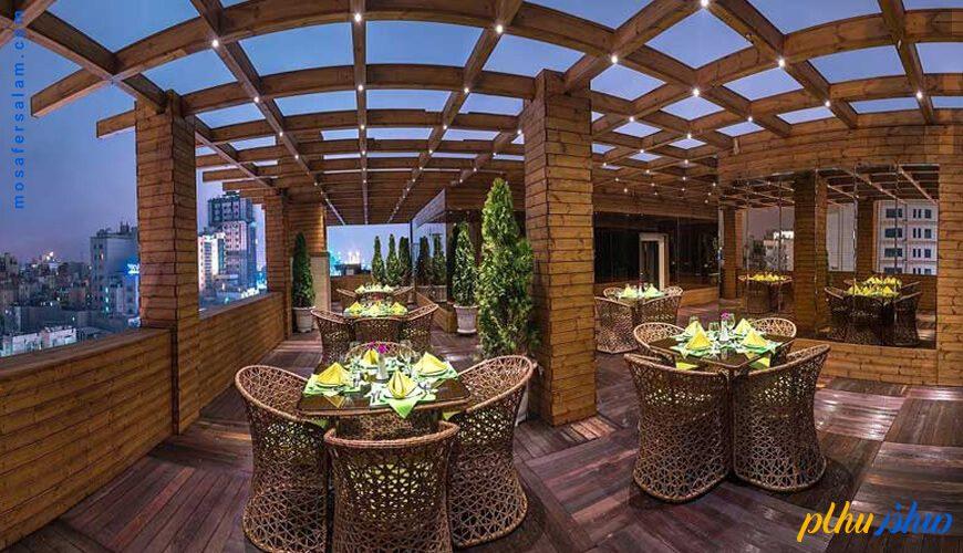 رستوران هتل جواهر شرق مشهد