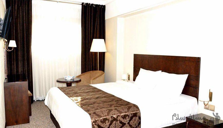 اتاقهای هتل جواهر شرق مشهد