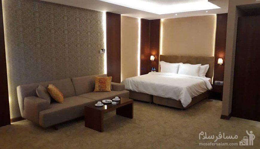 اتاق دوتخته هتل رفاه مشهد