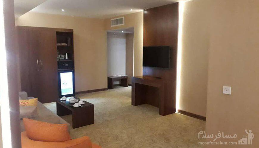 فضا اتاق هتل رفاه مشهد