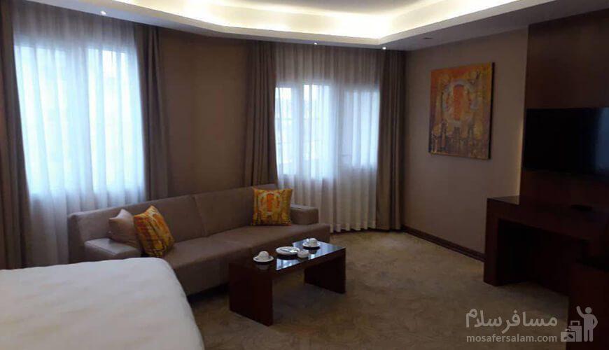 اتاقهای هتل رفاه مشهد