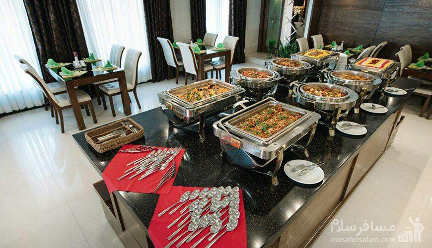 بوفه رستوران هتل جواهر شرق مشهد