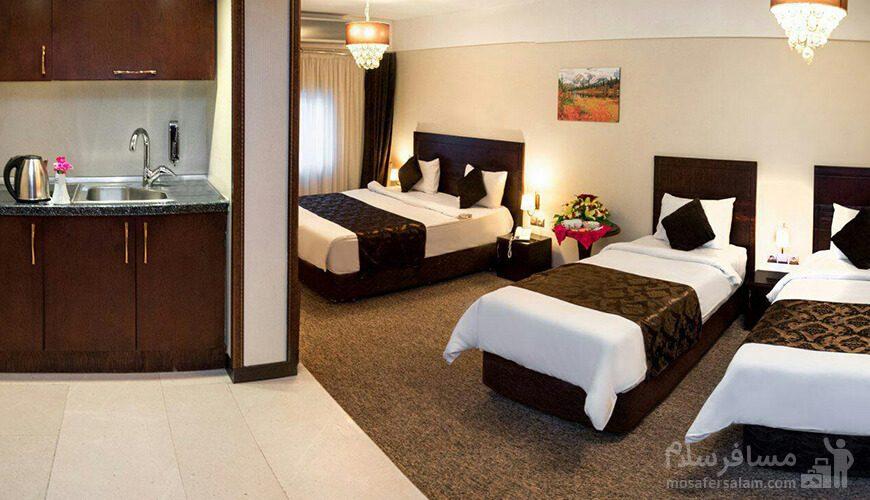 سوئیت هتل جواهر شرق مشهد