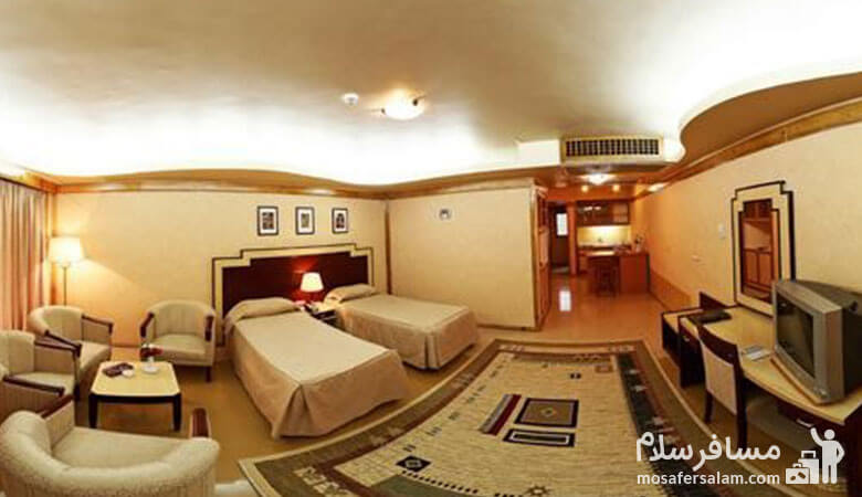 اتاق خواب هتل توس