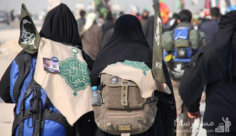 پیاده تا کربلا با کاروان پیاده روی اربعین حسینی