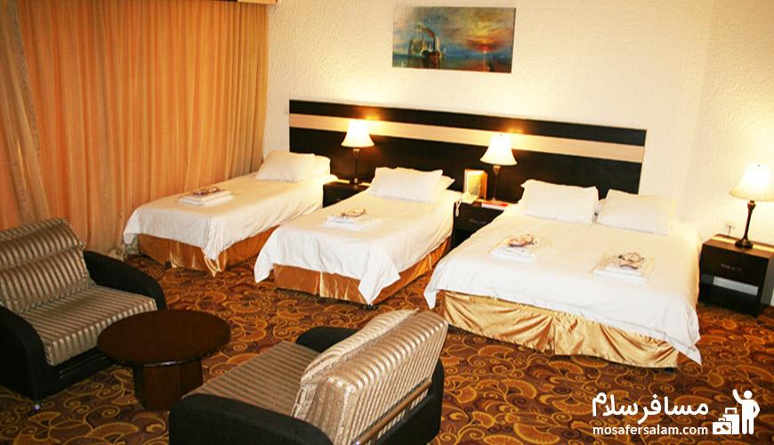 انواع تیپ اتاق ها در هتل | اتاق کابانا