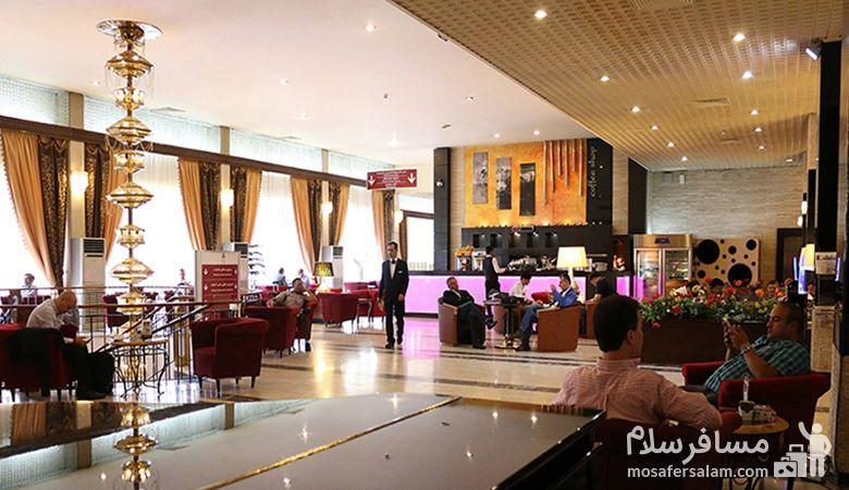 کافی شاپ هتل استقلال، رستوران هتل استقلال، رزرواسیون مسافرسلام