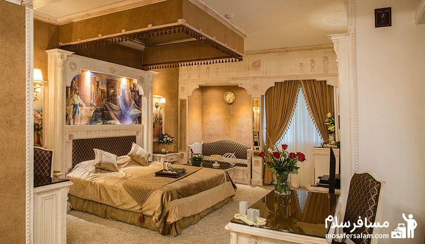 انواع تیپ اتاق ها در هتل
