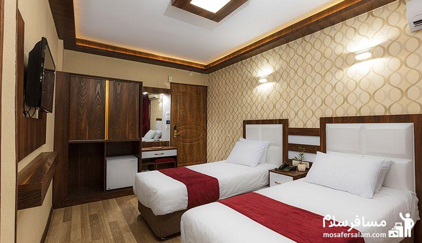 اتاق دو تخت توئین