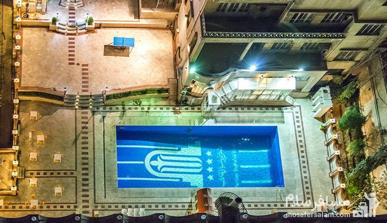 استخر هتل انقلاب تهران، هتل انقلاب تهران، رزرواسیون مسافرسلام