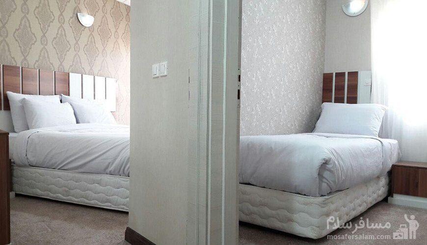 آپارتمان دوخوابه هتل حریرستان مشهد