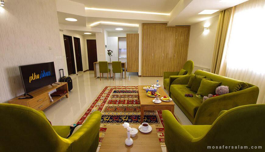 هتل آپارتمان حیات شرق | رزرو هتل در مشهد
