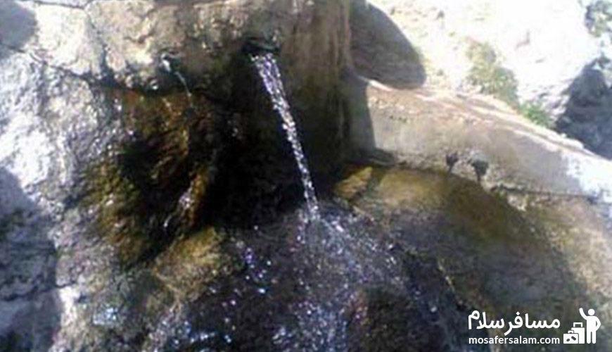 آبگرم محلات نقطه مبدا چشمه