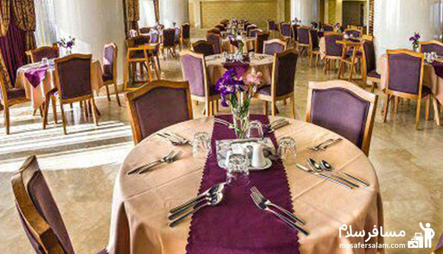 رستوران هتل آرمان