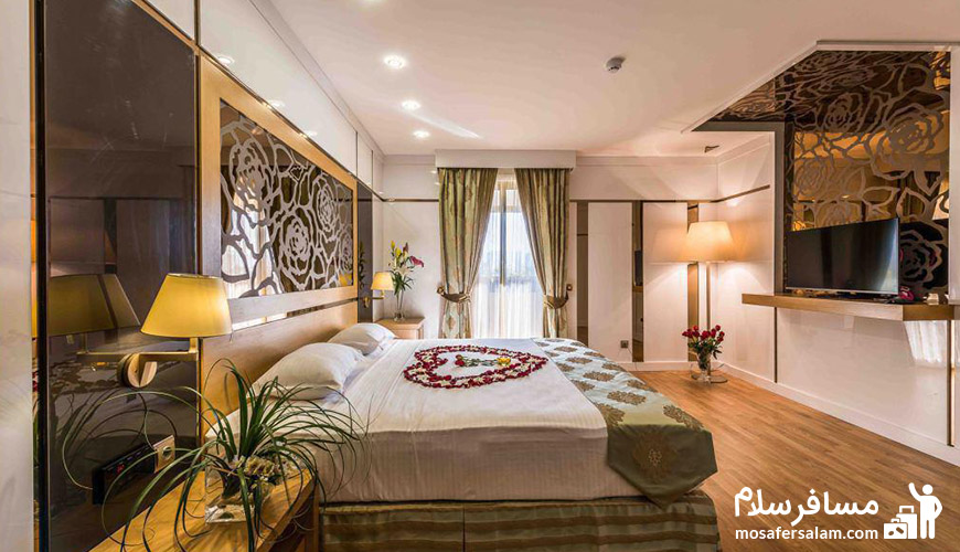 اتاقی زیبا در هتل آرمان