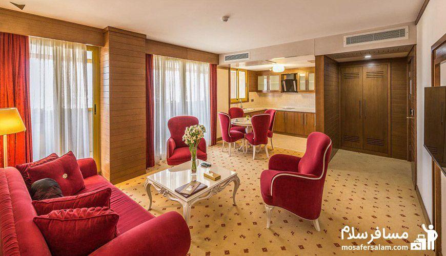 اتاق در هتل آرمان