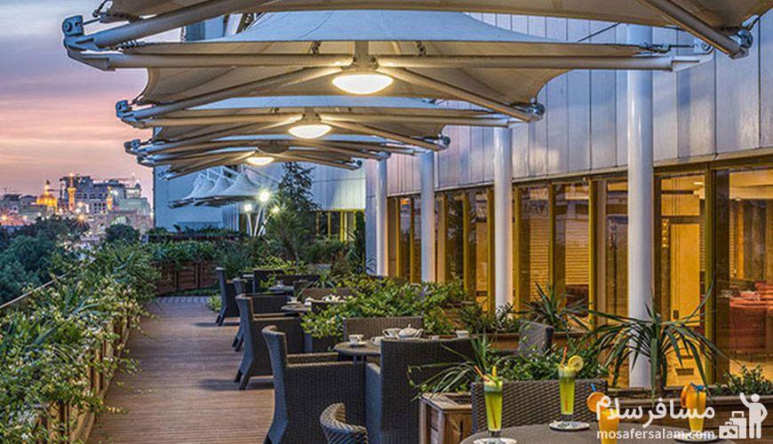 تصویری زیبا از هتل آرمان