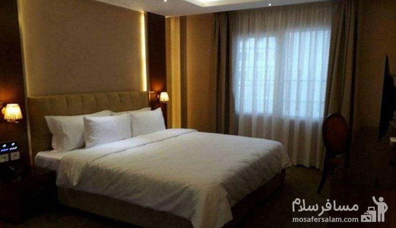 اتاق دو نفره هتل رفاه مشهد، هتل آپارتمان رفاه مشهد، رزرواسیون مسافر سلام