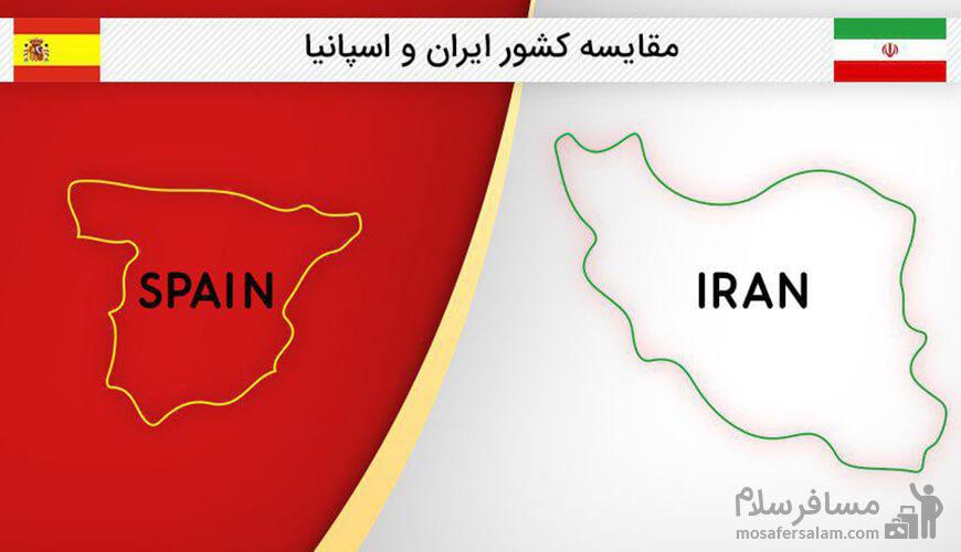 مقایسه ایران و اسپانیا