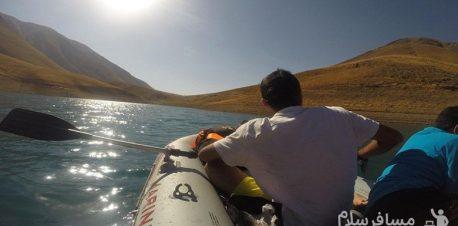 قایقرانی دریاچه تار