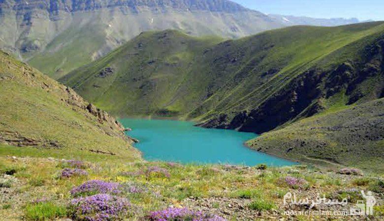 طبیعت بهاری دریاچه تار