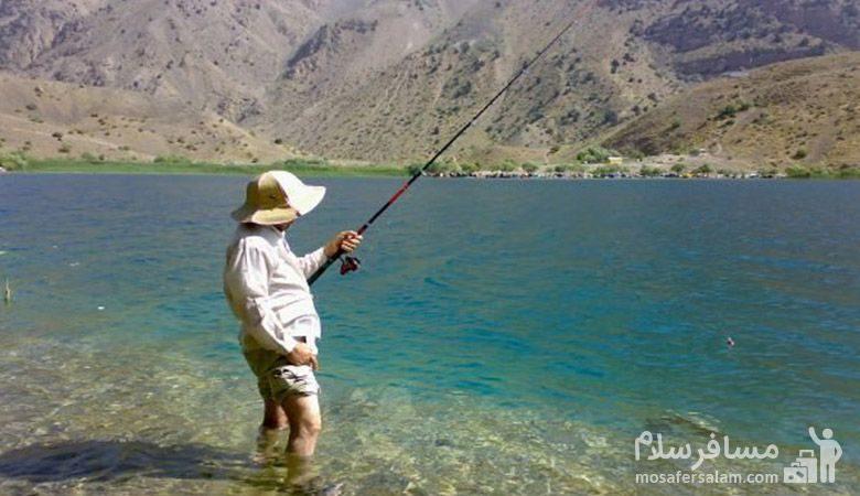 ماهیگیری دریاچه تار
