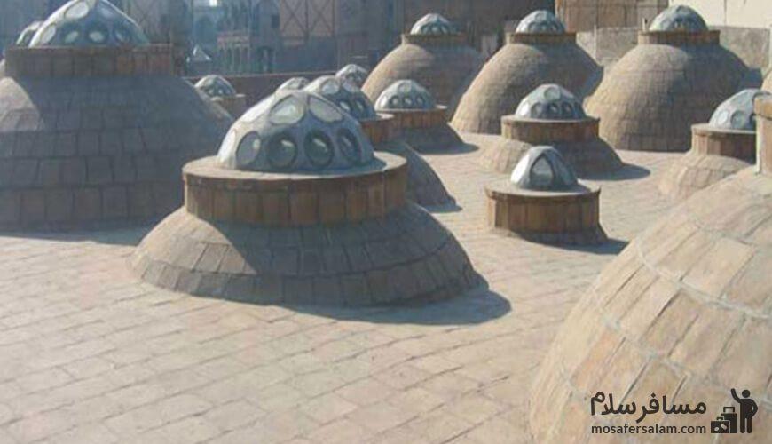 پشت بام حمام شاه مشهد