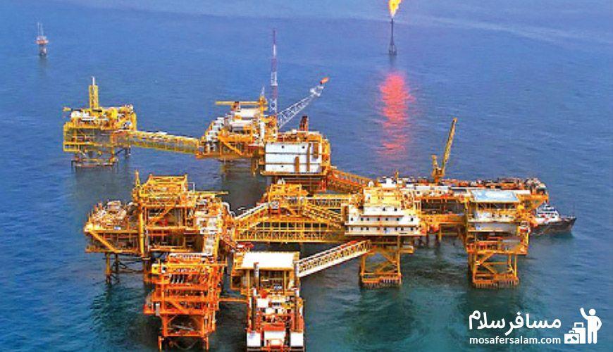 منابع نفت و گاز طبیعی در ایران
