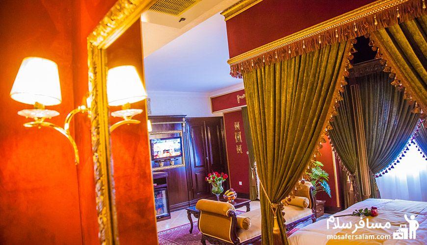 انواع تیپ اتاق ها در هتل | پرنسس روم