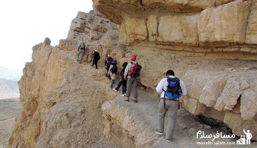 کوهنوردی در کوه صفه