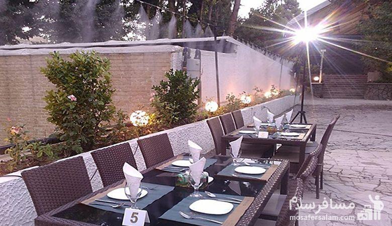 رستوران فصلی آبشار گیله وا هتل استقلال، رستوران هتل استقلال، رزرواسیون مسافرسلام