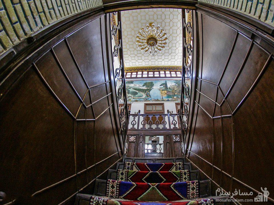 راهرو عمارت شاپوری