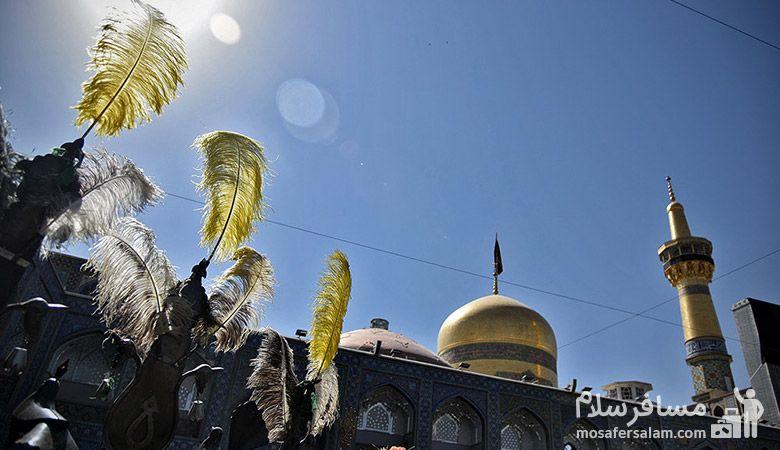تاسوعا حسینی در حرم مطهر امام رضا، محرم در مشهد، یا ابوالفضل العباس، محرم 97، رزرواسیون مسافر سلام