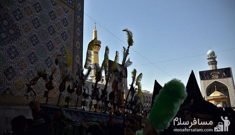 عاشورا حسینی 97، محرم در مشهد، یا ابوالفضل العباس، محرم 97، رزرواسیون مسافر سلام
