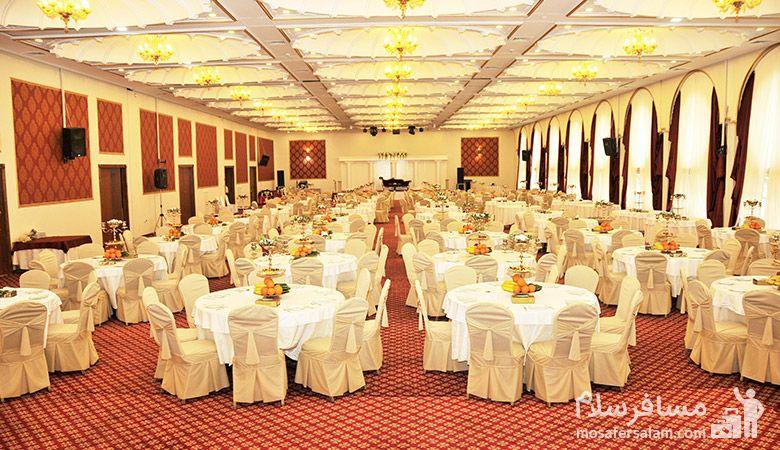 تالار عروسی هتل انقلاب تهران، رزرواسیون مسافر سلام