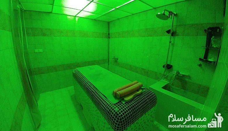 اتاق ماساژ استخر هتل پارسیان